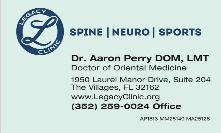 Aaron Perry Business Card